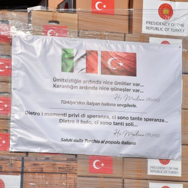 Turkey's Help to Other Countries