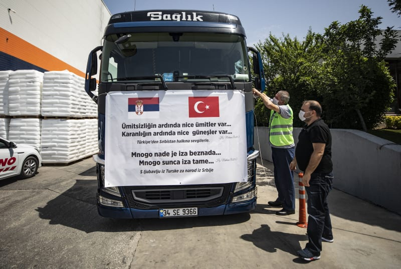 Turkey sends medical supplies to Serbia amid pandemic