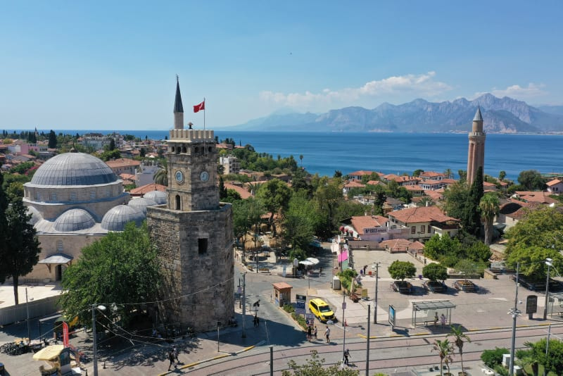 Turkey welcomes 5.4 million tourists in 7 months