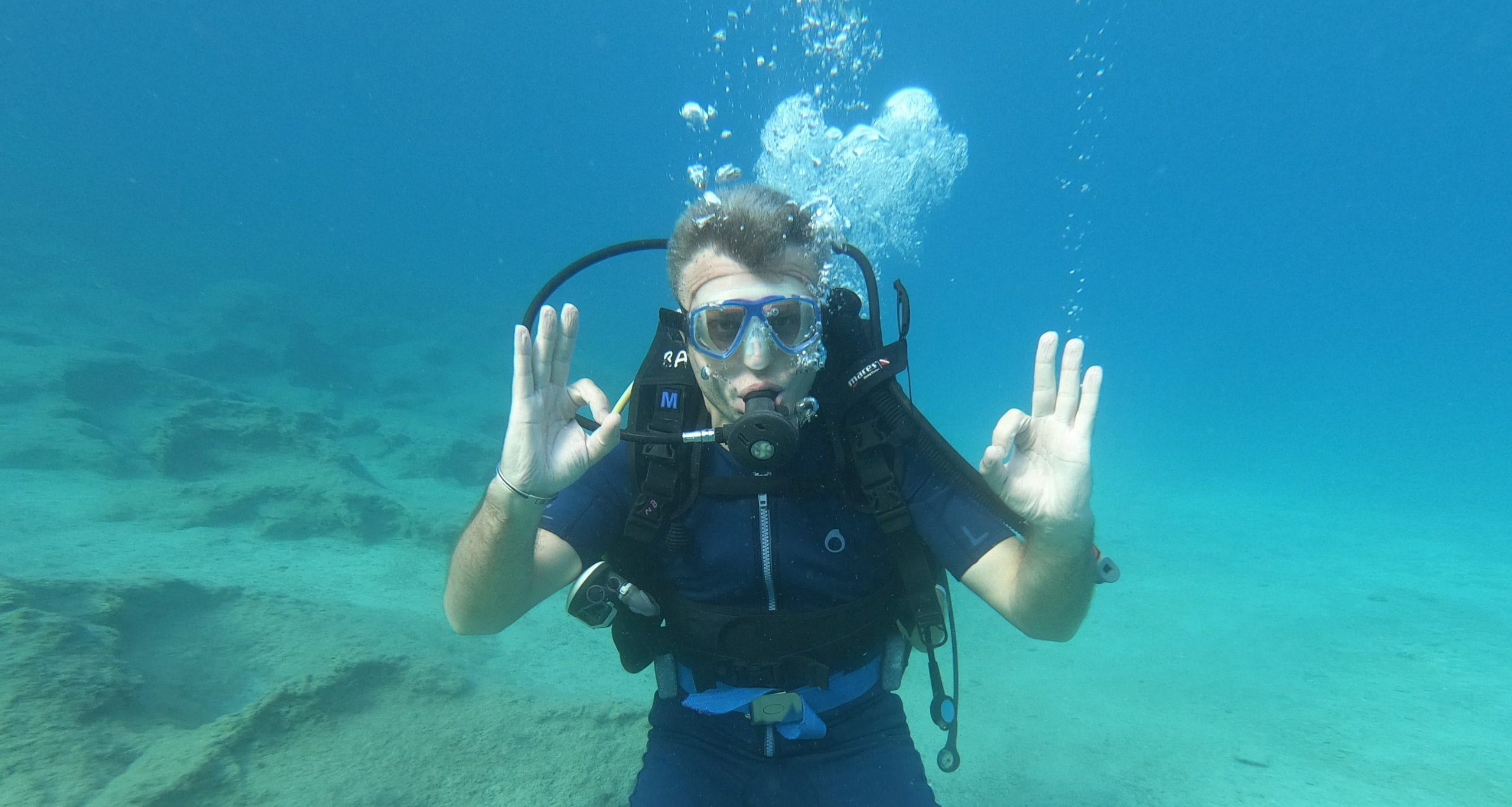 Finest destination for scuba diving tourism in Turkey – Kaş