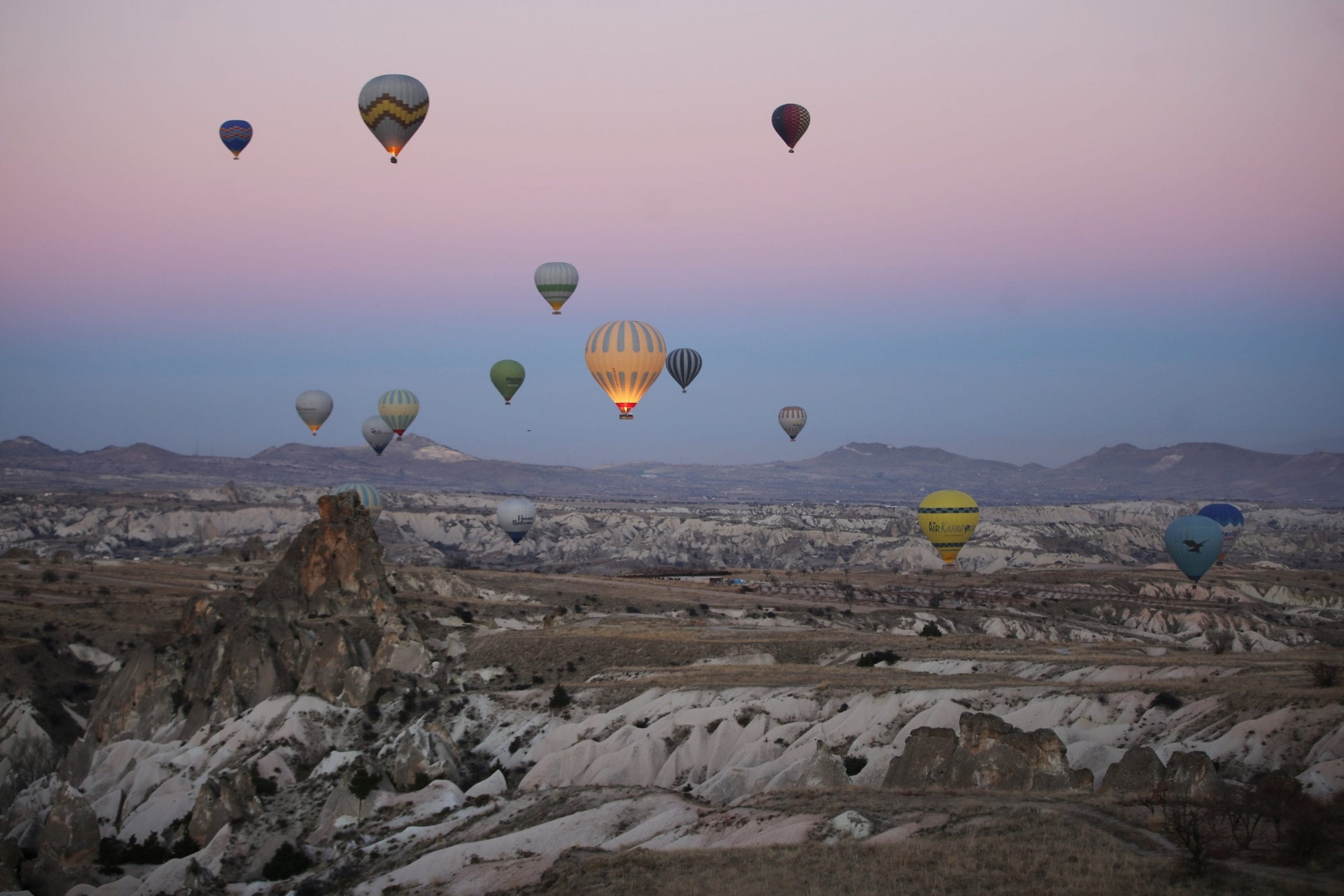 More than 120,900 visitors visited Turkey's Cappadocia in 2020