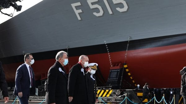 Turkey among 10 countries that design, build and maintain their own warships, Erdoğan says