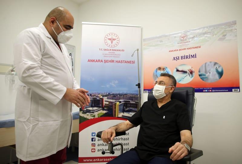Более 110.000 медицинских работников получили прививки от COVID-19 в Стамбуле