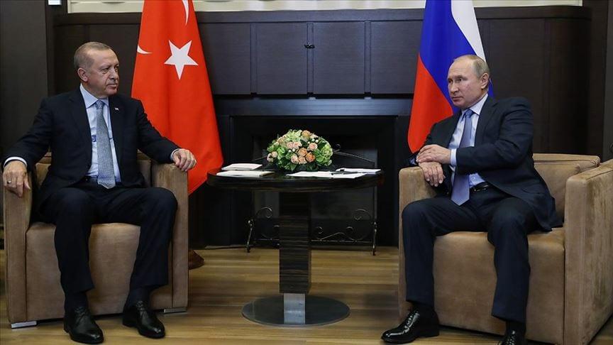 Putin informs Erdoğan about Moscow's trilateral meeting over Nagorno-Karabakh