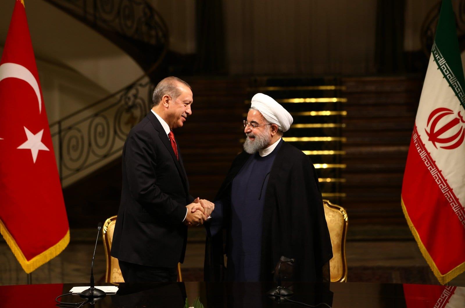 Turkey's Erdoğan holds phone conversation with Iranian President Rouhani