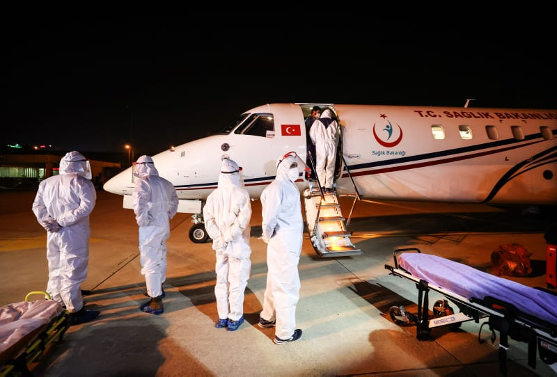 Turkey's Health Ministry airlifts 3 Turkish citizens from Tanzania