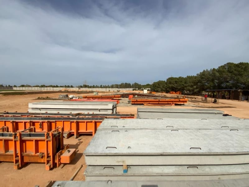 Largest concrete production facility in Libya established by Turkish company