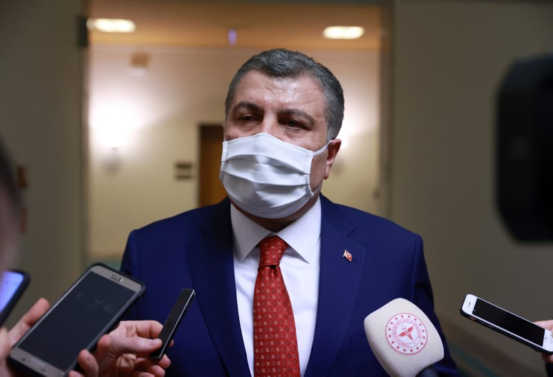 Turkey records more than 9,500 new coronavirus infections