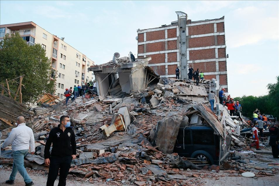 Turkey starts building new residences in earthquake-stricken Izmir