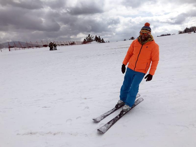 Keltepe Ski Center in  northern Turkey attracts ski enthusiasts