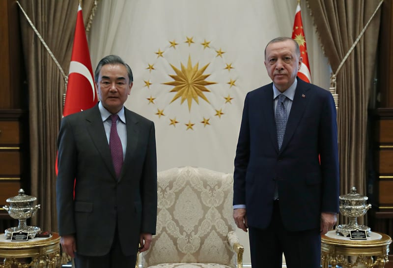 Chinese FM, Erdoğan discussed bilateral ties during Ankara visit