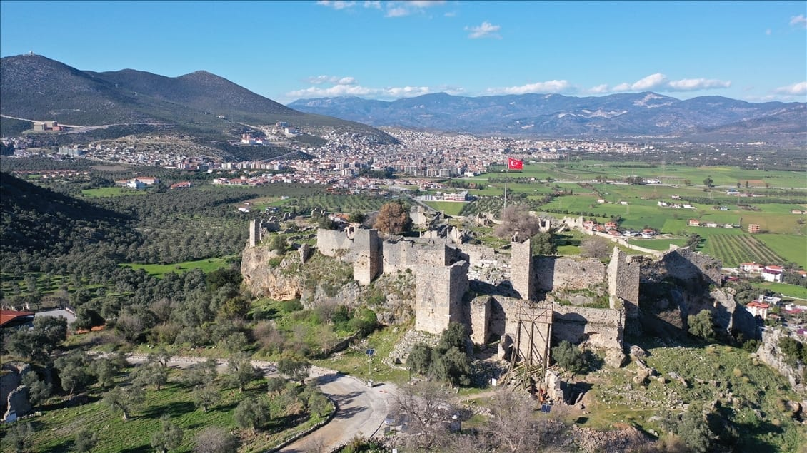 Ancient fountain restored in southwestern Turkey