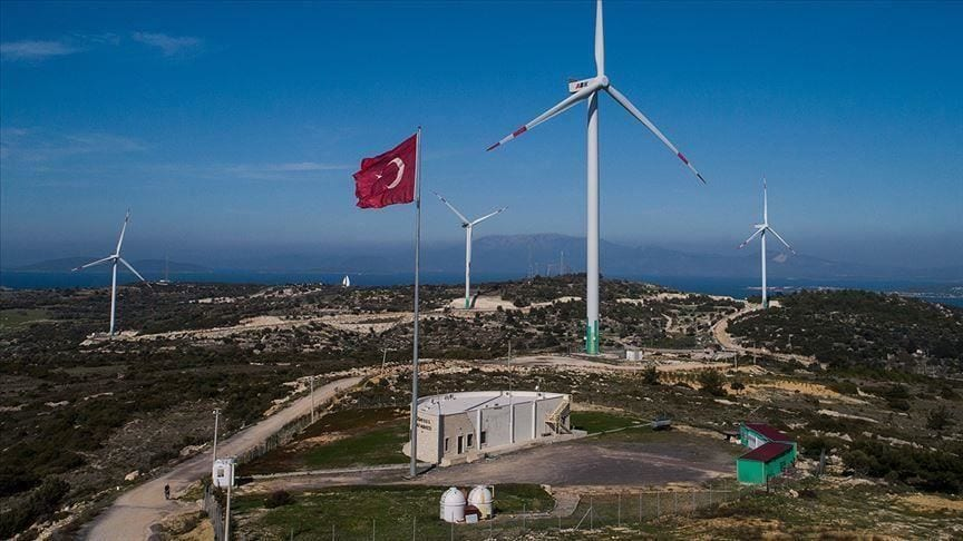 Turkey generated 12% of its electricity from wind and solar in 2020