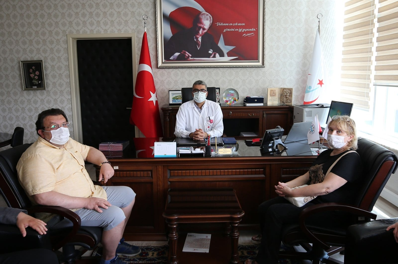 Foreign residents recovered from COVID-19 compliments health care system in Turkey