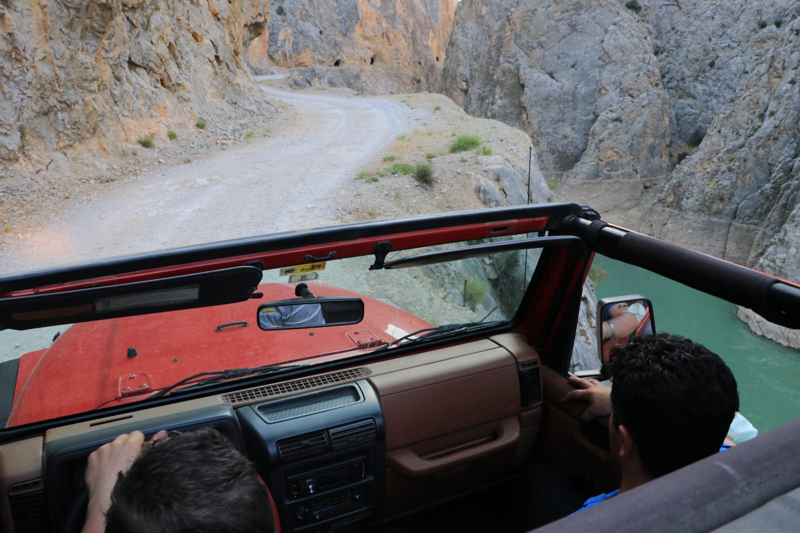 Thrill seekers flock to Turkey's Stone Road