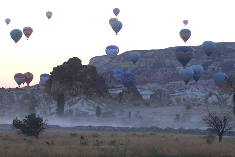 Over 150,000 people visited Turkey's picturesque Cappadocia in June