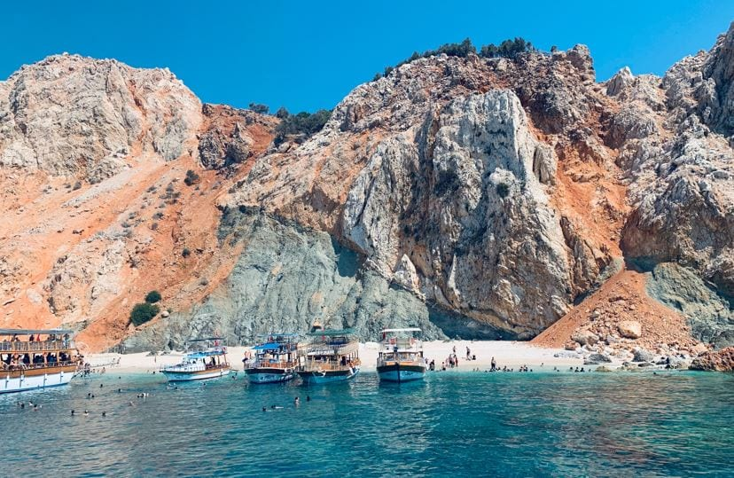 Almost 2.5 million foreign tourists have visited Antalya since the beginning of the year