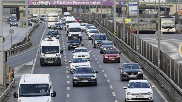 Motor vehicle registrations in Turkey fell 7.7% year-on-year, says TurkStat
